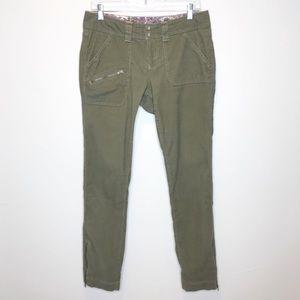 Athleta Women's Olive Corduroy Skinny Pants